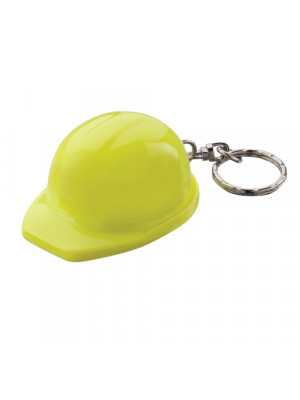 Hard Hat Keyring Yellow