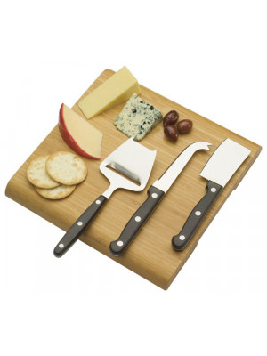 Cheese Board Set With 3 Slicers