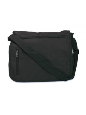 Shoulder Document Bag In A 600D Polyester Material