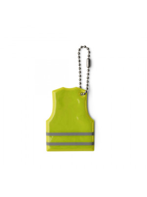 Vest Shaped Reflective Plastic Key Holder
