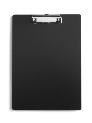 A4 Flexible Plastic Clipboard With Silver Clip