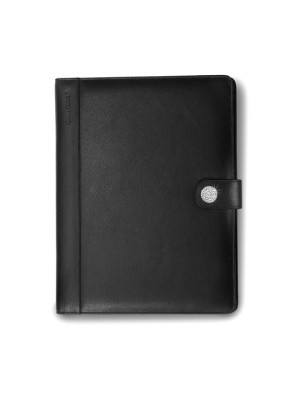 Charles Dickens Bonded Leather Folder With Fifty Sheet A4 Pad