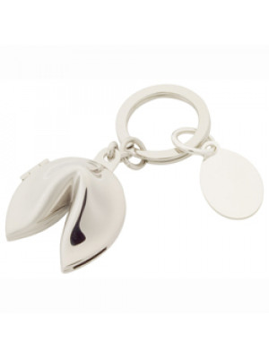 Fortune Cookie Shaped Keyring