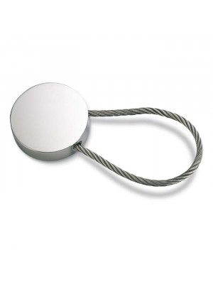 Metal Keyring Circle