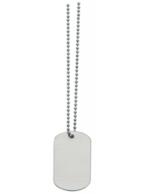 Silver Stainless Steel Dog Tag