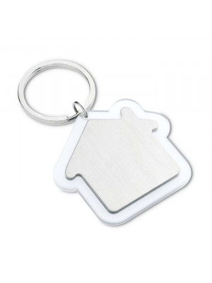 House Shaped Rimmed Keyring