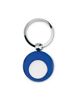 Metal Keyring With Metal Token