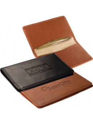 Alpine Card Case (Sueded Full-Grain Leather);