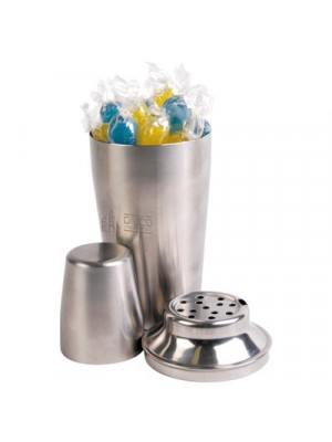 Corporate Colour Fiesta Fruits In Stainless Steel Cocktail Shaker