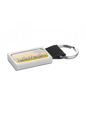 Metal Key Ring With Webbing Loo