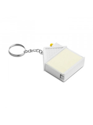 Key Ring Tape Measure Note Book