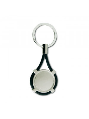 Key Ring With Silicone Strap