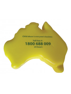 Australia Stress Shape