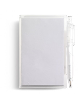 Notebook With Approximately Eighty Sheets and Plastic Case