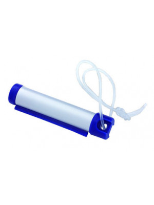 Roller Tag - Silver/Blue