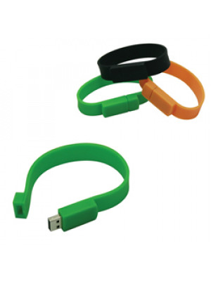 Wristband - Usb Flash Drive (Indent Only)