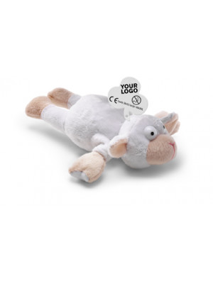 Soft Velour Toy Which Can Be 'Shot' By Elastic Front Legs