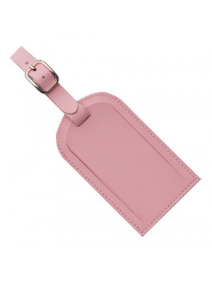 Covered Luggage Tag - Pink