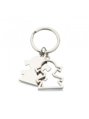 Girl Shaped Keyring
