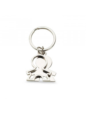 Boy Shapped Keyring
