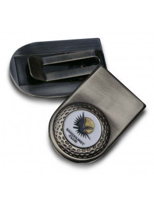 Money Clip With Magnetic Ball Marker