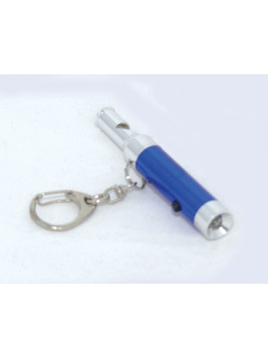 Torch And Whistle Keychain