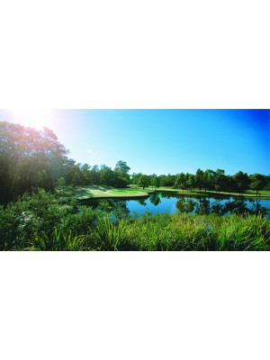 Riverside Oaks (Nsw) Golf Voucher For 4 (With Carts)