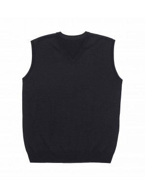Merino Wool Fuly Fashioned Vest - Mens