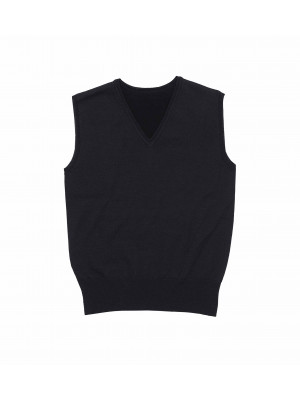 Merino Woolfully Fashioned Vest - Womens